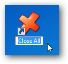 Close All - Shortcut