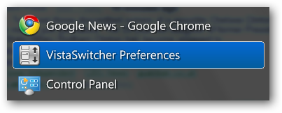 VistaSwitcher - Preferences Icon
