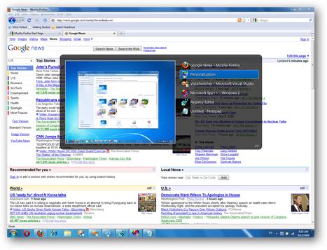 VistaSwitcher Screenshot