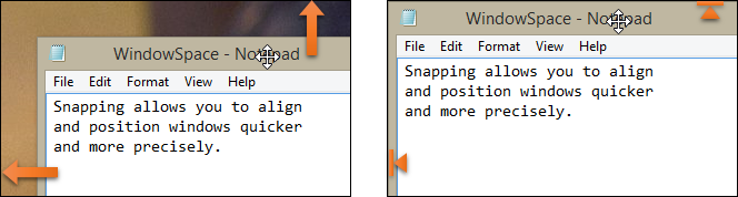 WindowSpace - Snap to Screen Edges