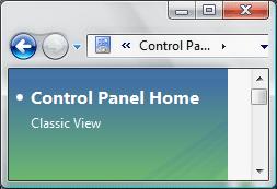 Vista window corners problem