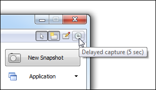 WinSnap v3.5 - Delayed Capture