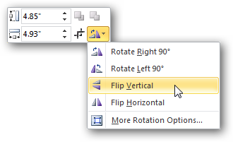 Word 2010 - Picture Dropdown Menu