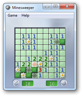 Minesweeper with Transparency
