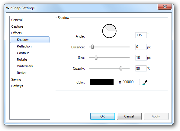 WinSnap 4.0.1 الشروحات settings-4.png