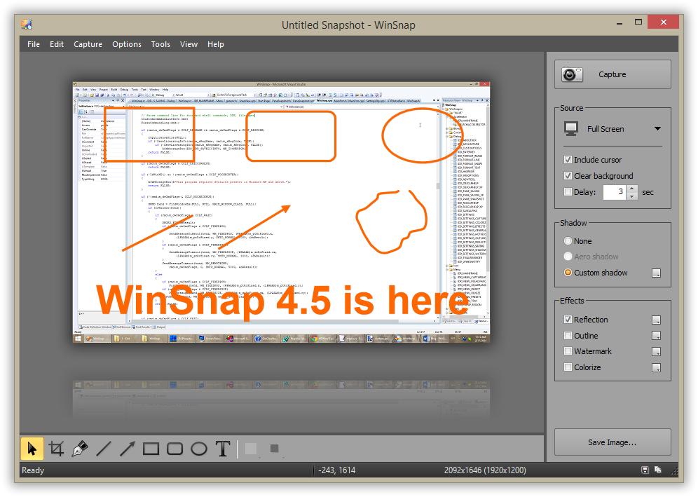 WinSnap 4.5 - Black Style